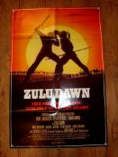 "ZULU DAWN (1979) US One Sheet (27"" x 41"") Folded"