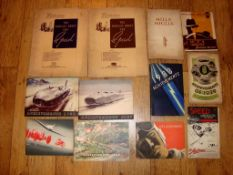 AUTOMOBILIA - A group of Pamphlets and Books dating from 1920s and 30s by Autocar and others as