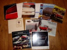 AUTOMOBILIA - A group of 1970s and 1980s American Brochures and copies of Corvette News