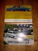 AUTOMOBILIA - A pair of 1963 brochures for Chevrolet