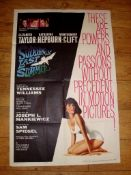 """SUDDENLY LAST SUMMER (1960) US One Sheet (27"""" x 41"""") . Elizabeth Taylor and Montgomery Clift star in"""