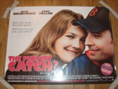 """THE PERFECT CATCH? (2005) (Fever Pitch) (Drew Barrymore) - UK Quad, (30"""" x 40"""") Film Poster"""