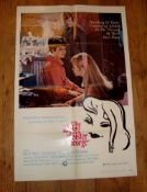 """THE KILLING OF SISTER GEORGE (1969) (Beryl Reid and Suzanna York) - US One Sheet (27"""" x 41"""") -"""