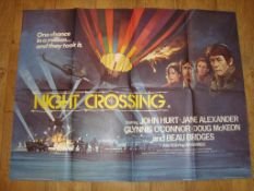 "NIGHT CROSSING (1982) UK Quad (30"" x 40"") Folded Film Poster"