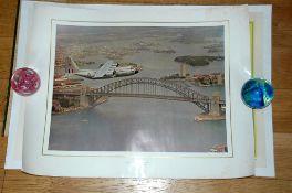 ROYAL AUSTRALIAN AIR FORCE - Calendar print - Aviation photo. Rolled