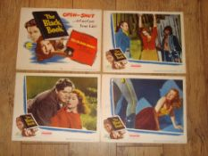 REIGN OF TERROR aka THE BLACK BOOK (1949) (Robert Cummings) - US Lobby Cards (numbers 1, 2, 3 and