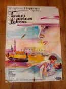 "SUMMERTIME aka TRAUM MEINES LEBENS (1955) (Katharine Hepburn) - German A1 (23""x33"") 1960s re-"
