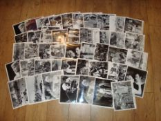 SWORD OF LANCELOT (1963) Large quantity of black and white movie stills