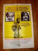 """THE MAGIC CHRISTIAN (1970) (Peter Sellers and Ringo Starr) - US One Sheet (27"""" x 41"""") Style B"""