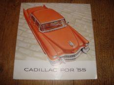 AUTOMOBILIA - A 1955 Cadillac Brochure