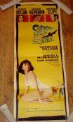 """SUDDENLY LAST SUMMER (1960) US Insert (36"""" x 14"""") Folded, with edge tear."""