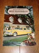AUTOMOBILIA - A 1955 Studebaker Range Brochure