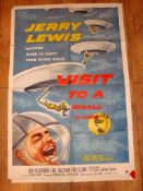 "VISIT TO A SMALL PLANET (1960) US One Sheet (27"" x 41"") Folded"