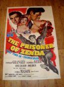 """PRISONER OF ZENDA (1952) US One Sheet (27"""" x 41"""") Folded"""