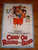 CARRY ON AT YOUR CONVENIENCE (1971) aka Carry On Round the Bend. British International One Sheet (