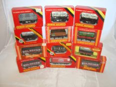 OO Gauge - Hornby Railways - A selection of wagons to include a Texaco tanker (12) (VG - BF)