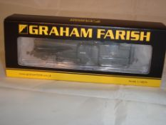 An N Gauge Class J39 64838 steam locomotive by Farish in BR Black Late Crest Livery(NM-BVG)