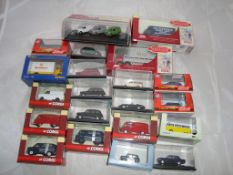 OO Gauge - General Model Railways - A selection of ex-shop stock boxed cars, vans and lorries by