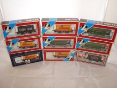 OO Gauge - Lima - A selection of Lima wagons as lotted to include four Beefeater Chips private owner