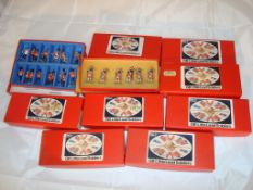 General Toys - A collection of 'GB Little Lead Soldiers' sets - to include Marching Guards, Bandsmen
