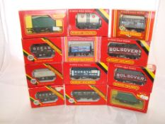 OO Gauge - Hornby Railways - A selection of wagons to include a United Dairies milk tanker (12) (