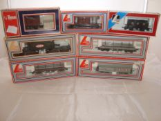 OO Gauge - Lima - A selection of Lima wagons as lotted to include a Heavy Load GEC wagon (8) (VG-