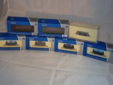 N Gauge - A group of Dapol wagons to include tankers and other wagons as lotted (7) (NM-BG - one van