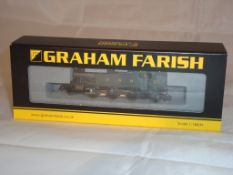 An N Gauge Class 61XX Prairie Tank locomotive 6114 by Farish in GWR Green (NM-BVG)