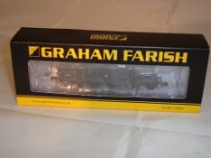 An N Gauge Fairburn 2-6-4 tank locomotive 42096 by Farish in BR Black early emblem livery (NM-BVG)