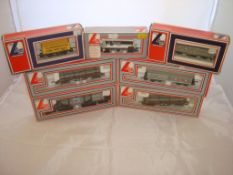 OO Gauge - Lima - A selection of Lima wagons as lotted to include two girder wagons with load (7) (