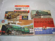 General Toys - A group of unbuilt kits by Airfix, Revell and others to include an Airfix Evening