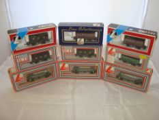 OO Gauge - Lima - A selection of Lima wagons as lotted to include a Lima Collection Harrods plank