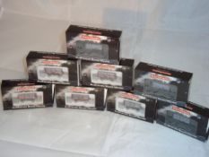 N Gauge - A group of Mathieson wagons in various liveries including Hodgens and Diamond (8) (VG-BP/