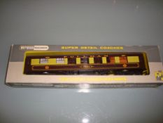 A Wrenn W6002A Pullman coach in Brown/Cream livery named Vera - with brown tables - Very Good,