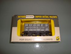 A rare Wrenn W5106 High Sided Hughes Mineral Van (Period 4 only 129 produced) - Excellent, Good to