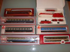 A group of coaches and wagons by Lima, Dapol, Airfix and Hornby - mostly boxed as lotted - Very