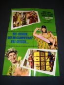 CARRY ON CLEO (1964) - Italian Soggetone - Folded.