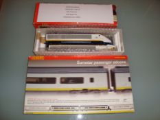 A Jouef (HO Gauge) Eurostar 2-car power set - Very