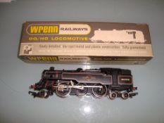 A Wrenn W2218 2-6-4 tank locomotive in BR black - Very Good, Good box - lid relabelled - vendor