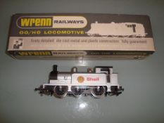 A Wrenn W2203 0-6-0 tank locomotive in Shell Silver livery - Very Good, Good box - vendor advises