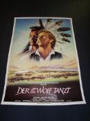 DER MIT DEM WOLF TANZT (Dances with Wolves) - Kevin Costner - German A2. Rolled. Good to Fine