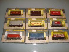 A group of assorted Wrenn wagons as lotted - Very Good, Good boxes (9)