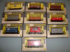 A group of assorted Wrenn wagons as lotted - Very Good, Good boxes (10)