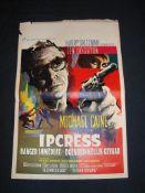 IPCRESS - DANGER IMMÉDIAT (1965) - Belgian Affiche - Folded. Poor to Fair