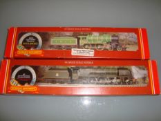 "A pair of Hornby Railways steam locomotives to include an LNER Class D49/1 ""Cheshire"" and a BR"
