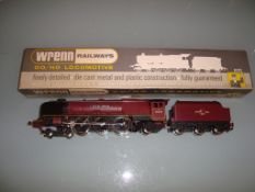 A Wrenn W2226A steam locomotive in BR maroon livery named 'City of Carlisle' - Very Good, Good