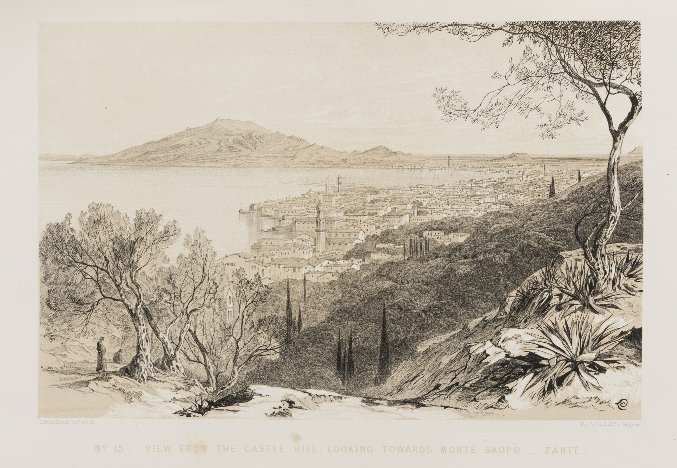 Lot 221 - Greece.- Lear (Edward) Views of the Seven Ionian Isles, signed presentation copy from the author …