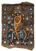 """*Gottesmutter Ovsepetaja"""" (=die Allgepriesene) Russische Ikone, 1. Hälfte 19. Jh., mit"""