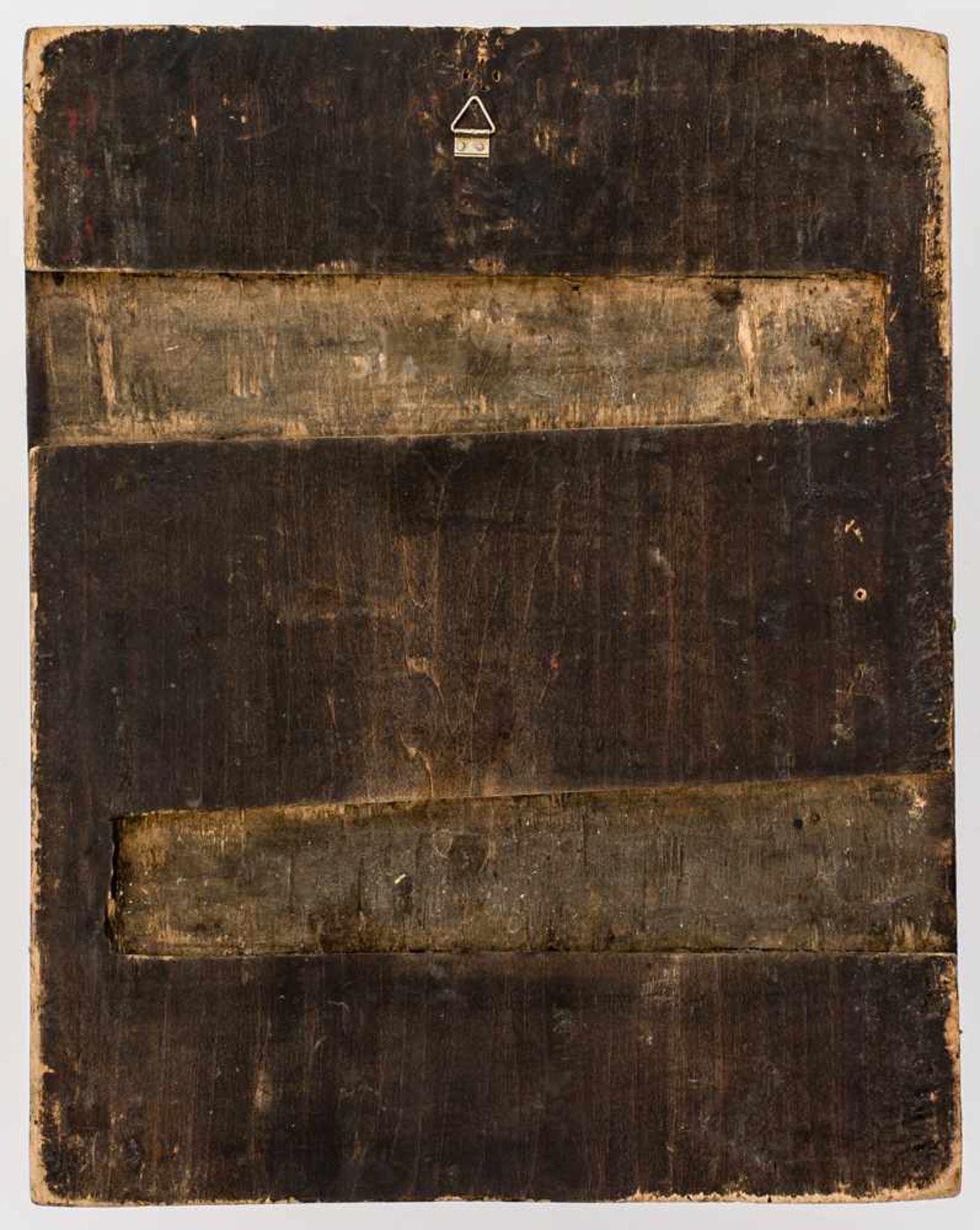 *Entschlafung der Gottesmutter Russische Ikone, Mitte 19. Jh. 34 x 27,5 cm Provenienz: Bayerische - Bild 2 aus 2