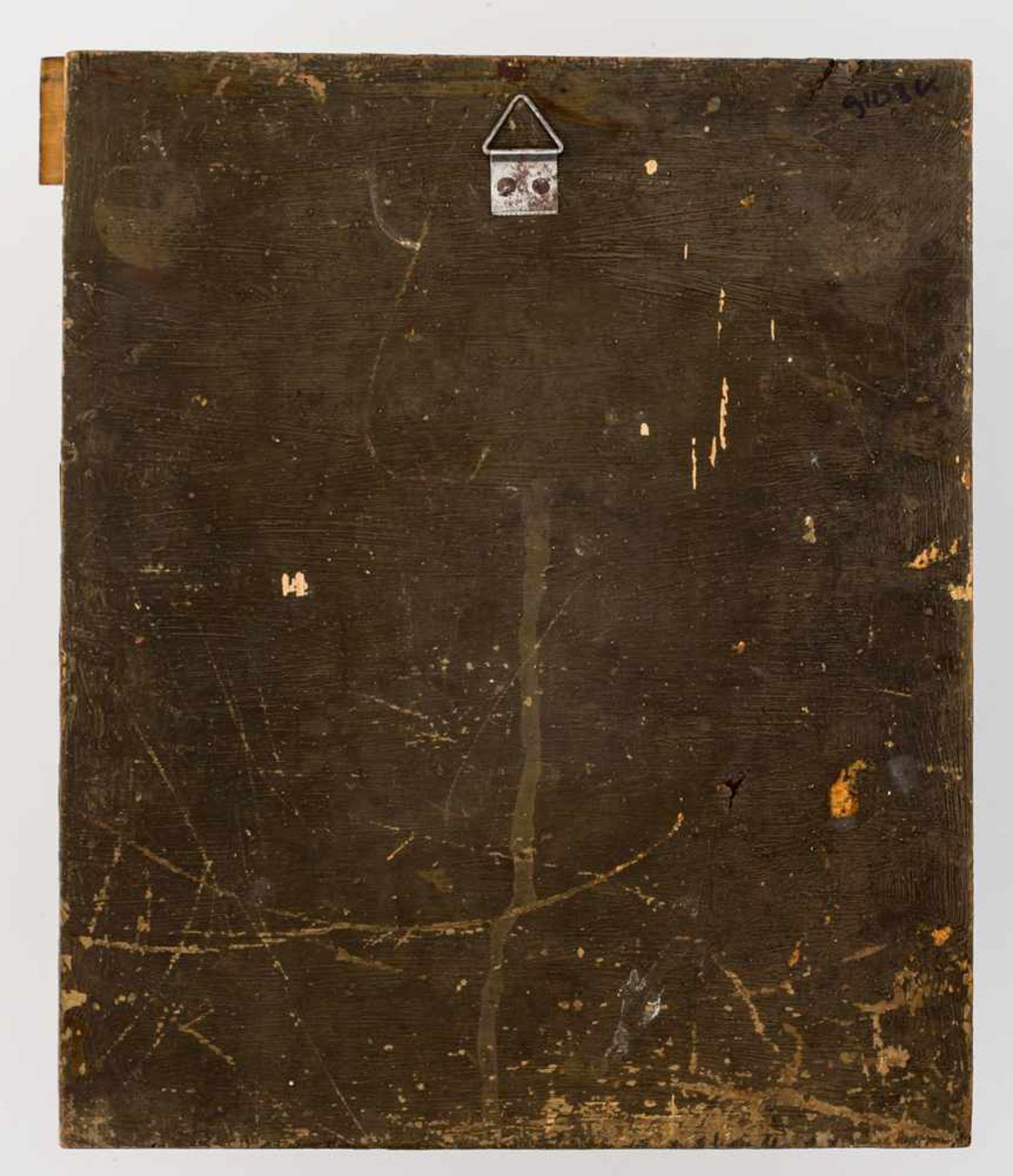 *Gottesmutter Vlachernskaja Russische Ikone, Ende 19. Jh. 31,3 x 26 cm Die Ikone ist benannt nach - Bild 2 aus 2